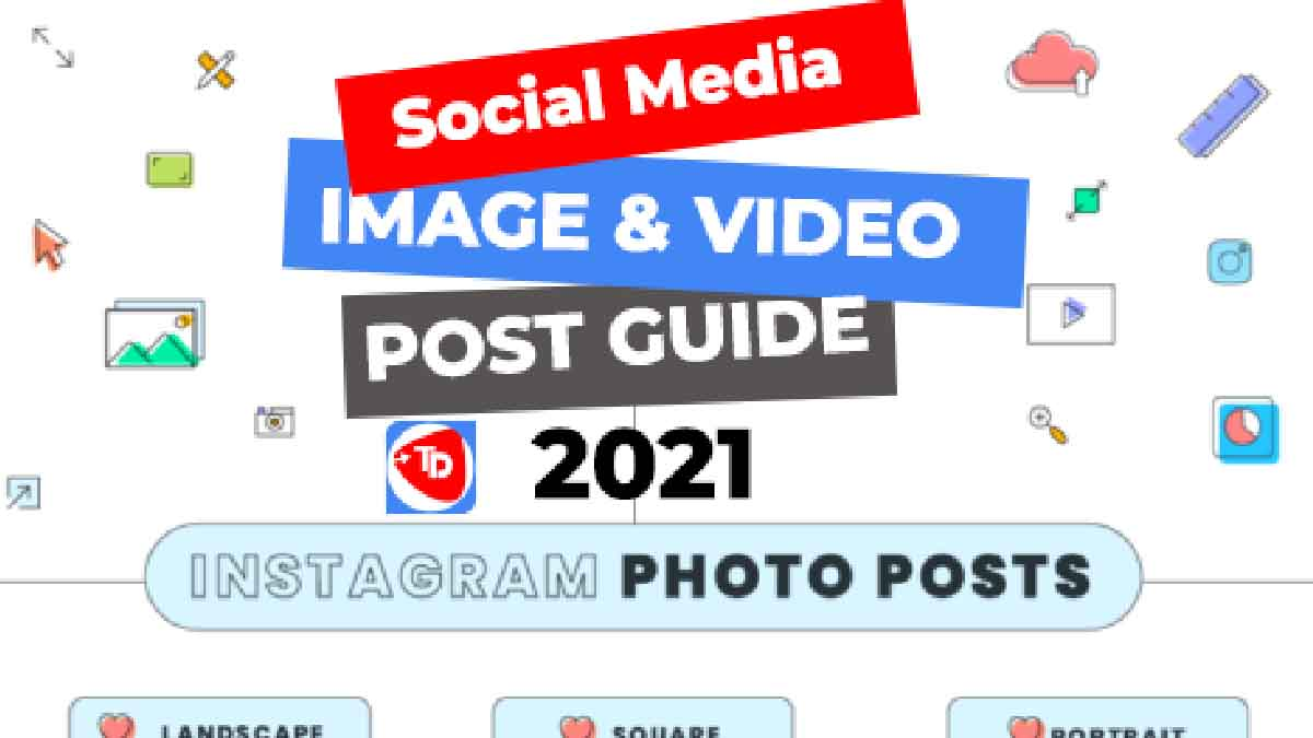 Updated 2021 Image post Sizes Guide to Every Important Social Media : Facebook, Twitter, Pinterest, Instagram, Google My Business