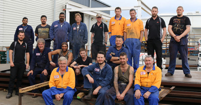 blue shed team