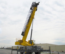 RT9150E boom raised