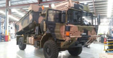 Rheinmetall TRT Tipper on RMMVA for ADF Land 121 B