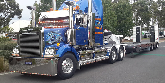 TRT on display at ITTE Show Melbourne 1
