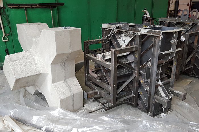XBloc Concrete Moulds for the Chathams 3