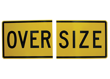 Accessories - Oversize Safety Sign CIX