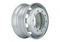 Trailer Axle Steel Wheels