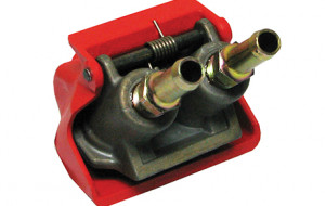 Truck and Trailer Brakes - Wabco Couplers Duo Tailpiece