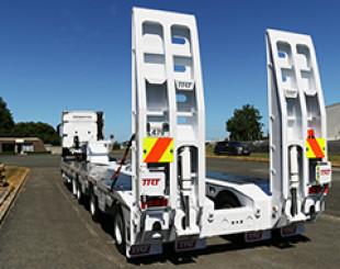 pembroke construction 3 x 8 low loader NZ