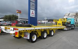 1 TRT Hydraulic House trailer 2.5m NZ