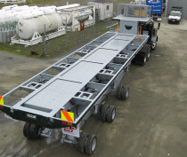 3.05m Wide Tri Axle - All Axle Steer