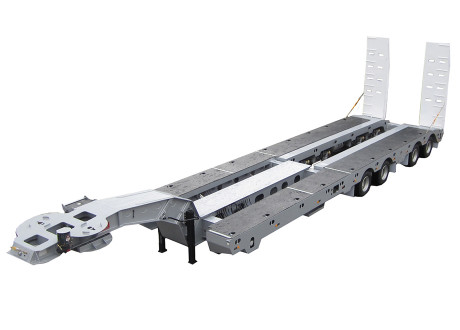 Quad Axle Widening Low Loader