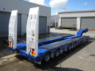Quad Axle Widening Low Loader clear cut