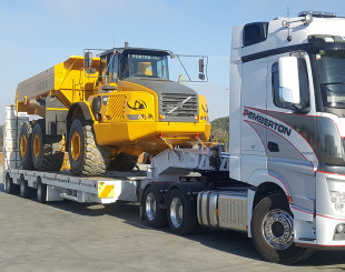 3x8 Swing Wing Widening Low Loader