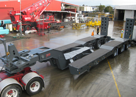 Trailers - 3x8 Minesite Low Loader