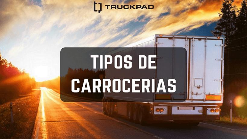 Carrocerias caminhão mais comum