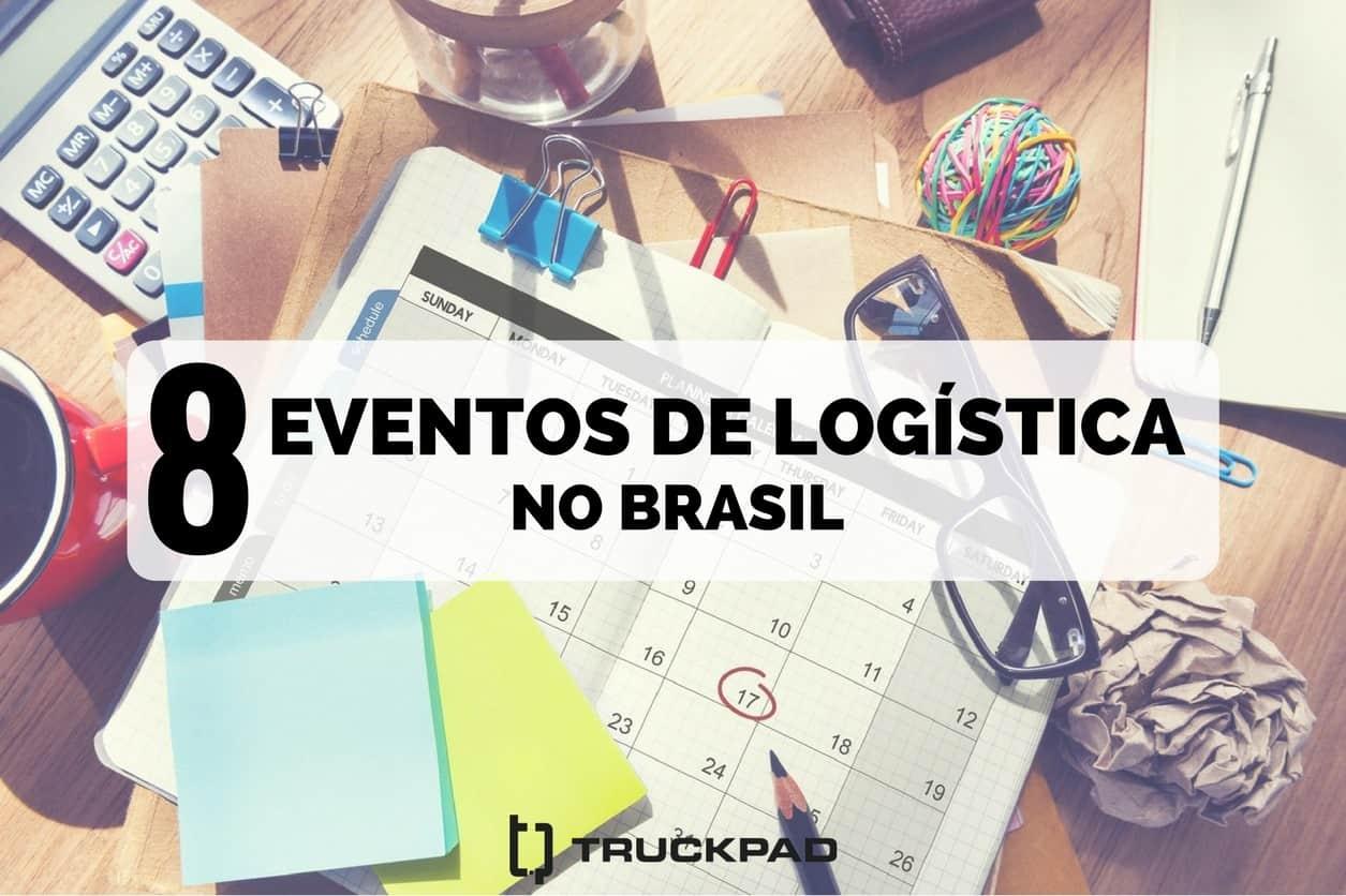 Calendário de eventos de logística