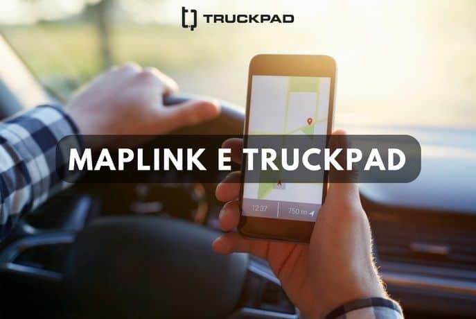 Maplink e TruckPad: juntas para te oferecer as melhores informações sobre o trajeto