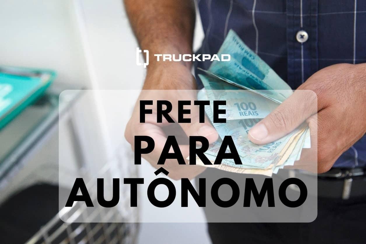 Quais são os meios para o pagamento de frete para autônomo