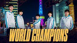Odhaleny skiny pro mistry Worlds 2020 Damwon Gaming