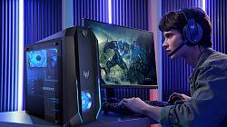 Acer uvádí nové notebooky a počítače s Intel a AMD procesory a výkonnými grafikami RTX řady 3000