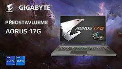 Gigabyte AORUS 17G - nekompromisní výkon na cesty