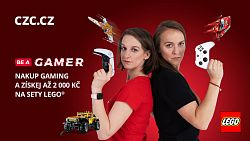 Získej slevu na LEGO v za nákup herních produktů