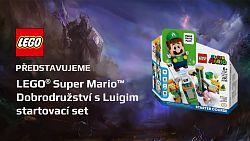 Přichází LEGO Luigi! Stavebnici LEGO Super Mario si teď užijete i ve dvou