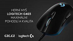 Skvělá myš Logitech G403 za bezkonkurenční cenu