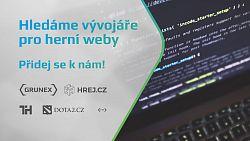 Hledáme vývojáře pro herní weby