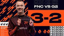 Napínavý duel mezi Fnatic a G2 sledoval rekordní počet diváků