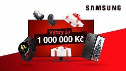 Vyhrajte ceny za milion od CZC.cz a Samsung