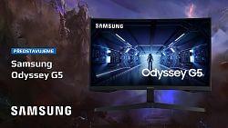 Monitor Samsung Odyssey G5 – herní odysea s 1440p a 144 Hz