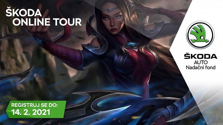 Vyhraj Škoda Online Tour v League of Legends a zažij, jak hrají profesionálové