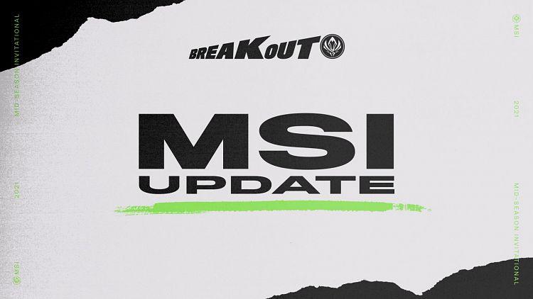 Na MSI nepojede jeden z týmů, formát se měnit nebude