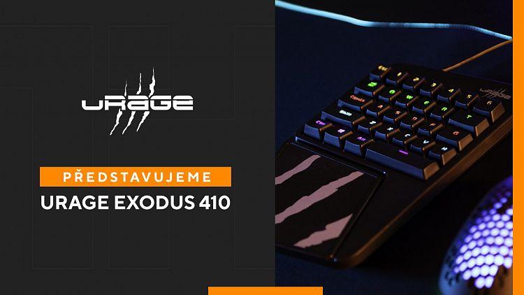 uRage Exodus 410 One Handed – 7 praktických využití pro malou herní klávesnici