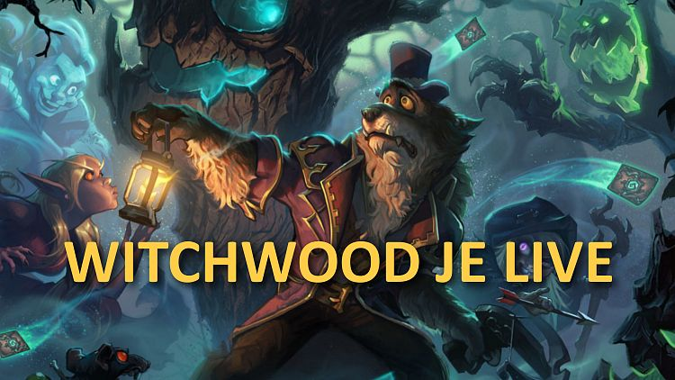 Nová expanzia The Witchwood je konečne live!