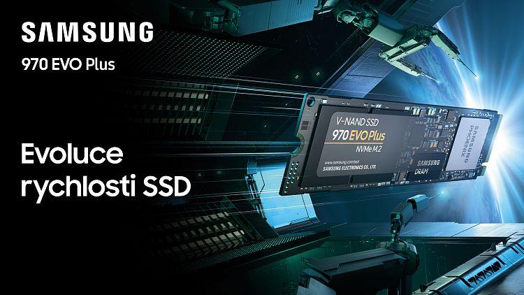 Samsung NVMe SSD 970 EVO Plus – ti nejrychlejší z nejrychlejších