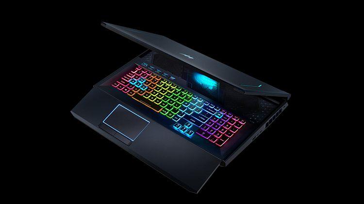 Acer představil nové herní produkty, nechybí notebooky, monitor nebo třeba batoh pro hráče