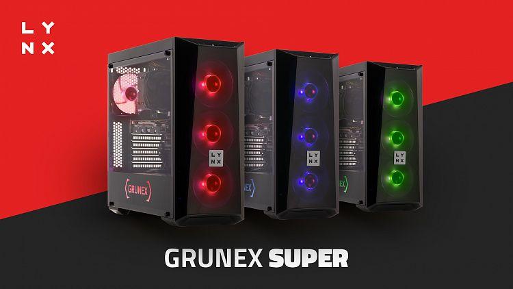 SUPER grafické karty hrají prim v nových sestavách LYNX Grunex