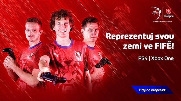 Česká reprezentace hledá své FIFA hráče!