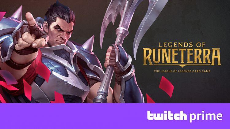 [Legends of Runeterra] Šampion, wildcards a token zdarma