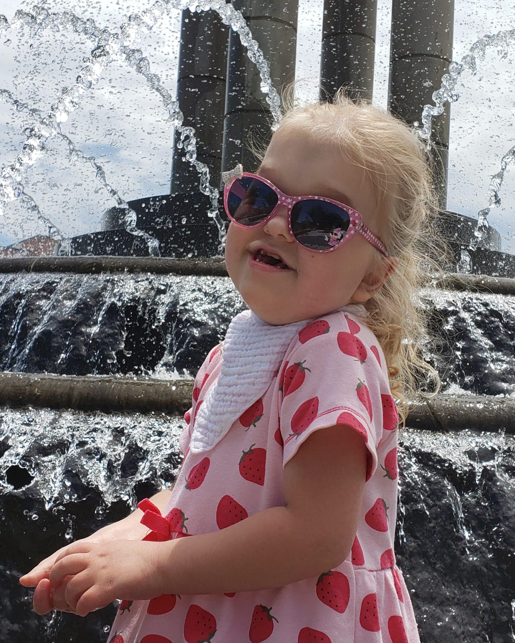 Super Mina with sunglasses on!