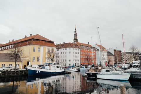Boats in port in Copenhagen