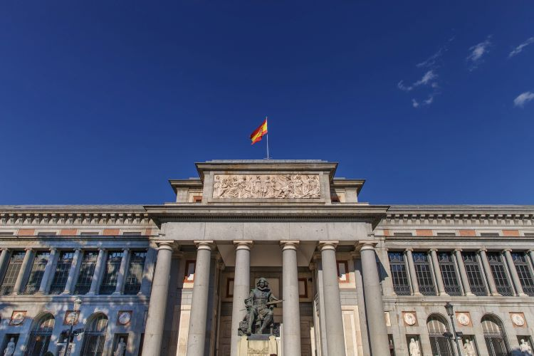 Iconic Museo del Prado, one of the world's most visited museums
