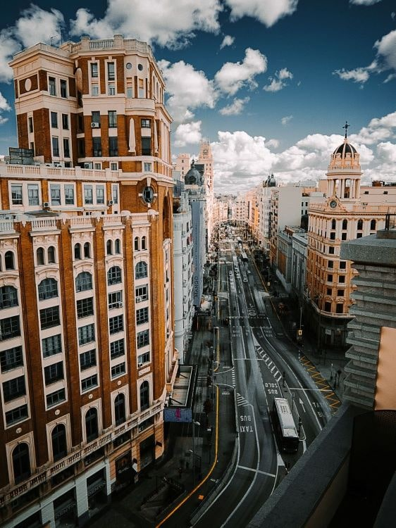 Madrid's Gran Via one of Europe's best shopping streets