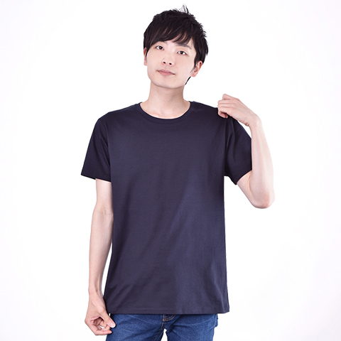 身長178cm (Lサイズ) 4.6oz Fine Fit Tshirts (DALUC)