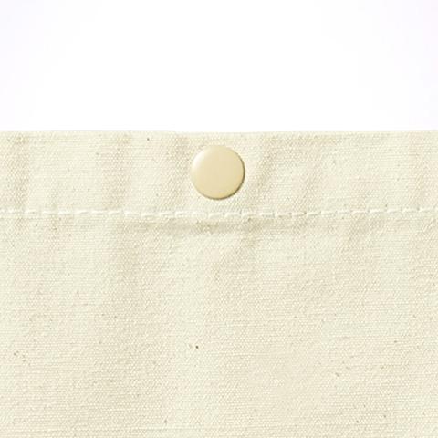 袋口スナップボタン