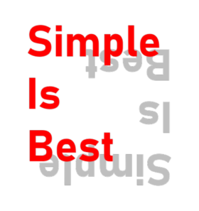 シンプルデザインシリーズ