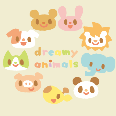 dreamy animals