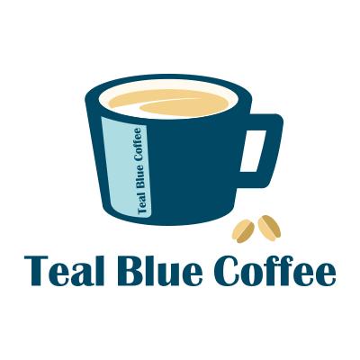 TealBlueCoffee_ロゴ