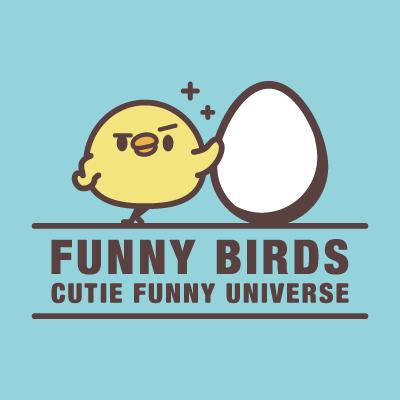 FUNNY BIRDS(・8・){ 鳥やヒヨコ )