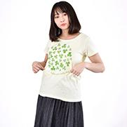 クローバー 水彩 4.6oz Fine Fit Ladies Tshirts(DALUC)